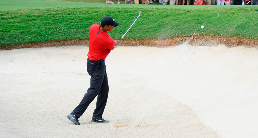 The Shot That Won Tiger The Tour Championship