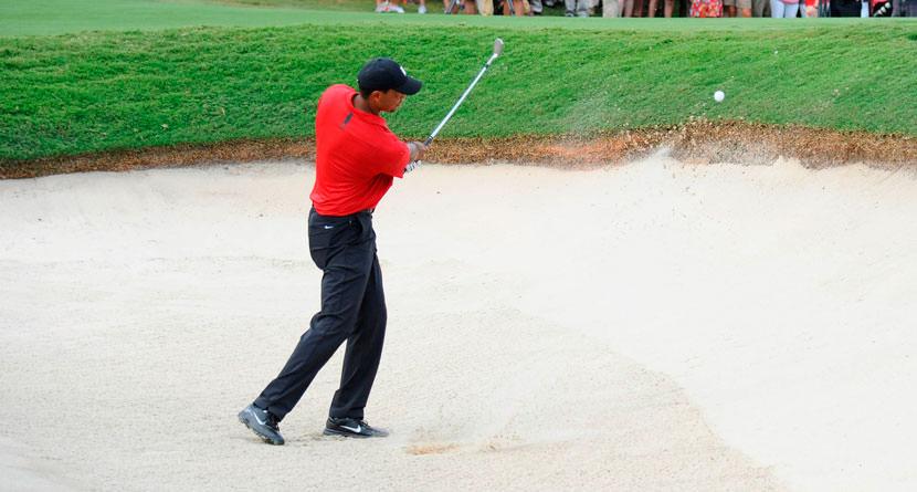 The Shot That Won Tiger The Tour Championship