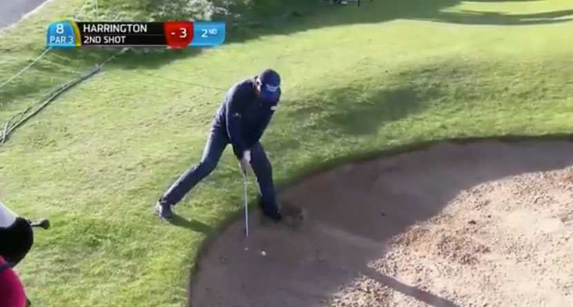 Harrington's Superb Up-And-Down From The Bunker