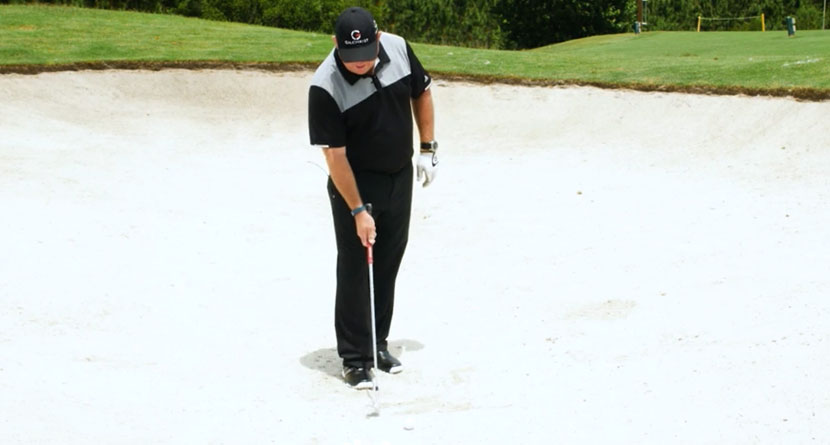 Read The Sand To Hit Better Bunker Shots