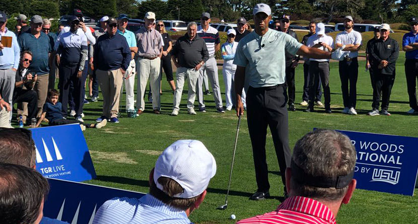 Tiger Talks Ryder Cup, Future Schedule At Clinic