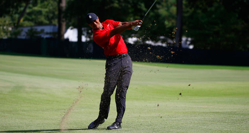 Keys To Tiger's Incredible Iron Play
