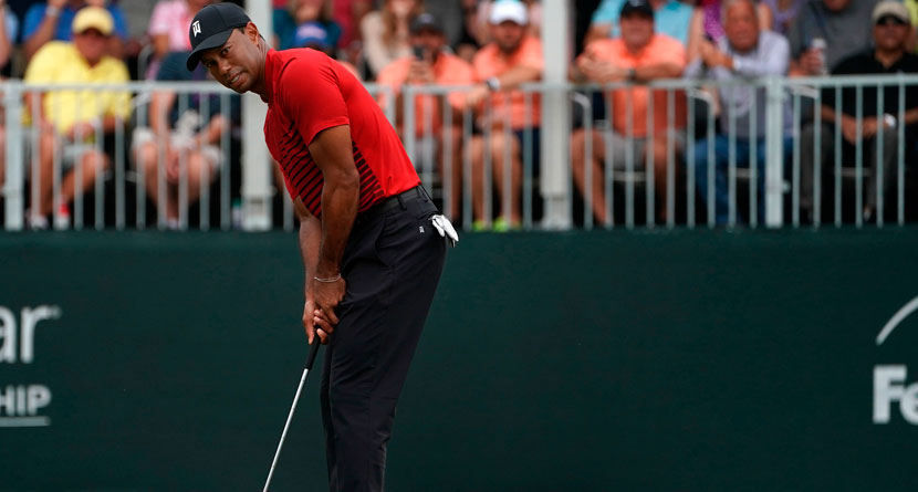 Tiger's Best Shots Of 2018: Birdie Bomb At Valspar