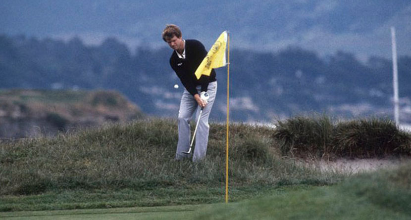 Watson's Iconic Pebble Beach Chip-In