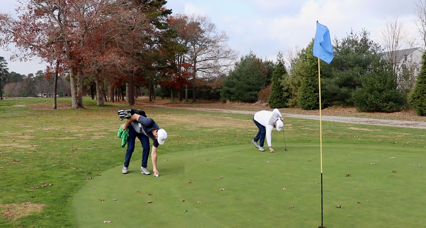 Caddie Can Mark Ball Without Penalty