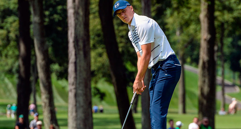 Why Spieth Putts Cross-Handed