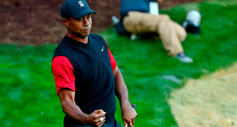 How To Replicate Tiger's Clutch 17th Hole Chip-In