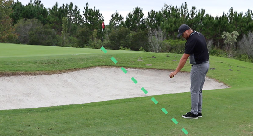 Rule Change For Taking Unplayable Lie In A Bunker