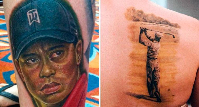 10 Wild Golf Tattoos