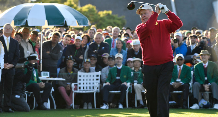 How Nicklaus Swings At 78 Years Old