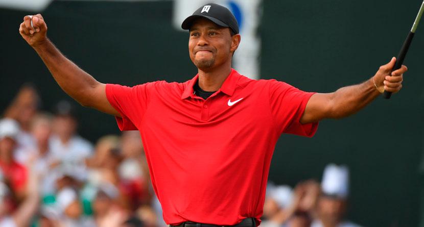 Tiger's Best Shots Of His Comeback Season