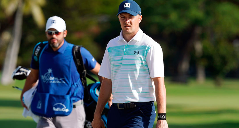 Spieth Nearly Penalized For Bad Drop