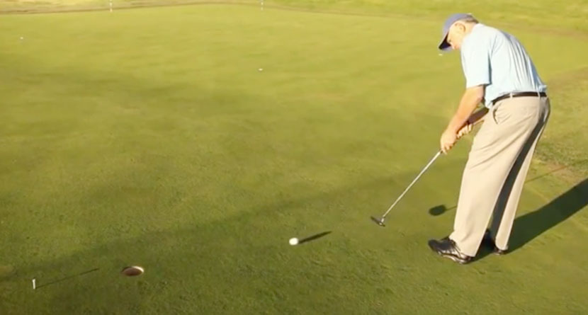 Warm Up Your Putter To Shoot Lower Scores