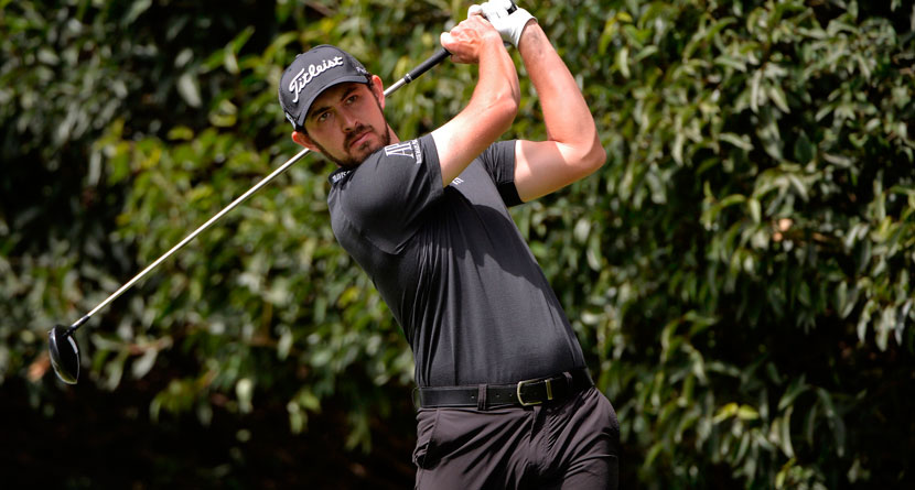 Cantlay Nearly Aces Par-4 While Kisner Putted