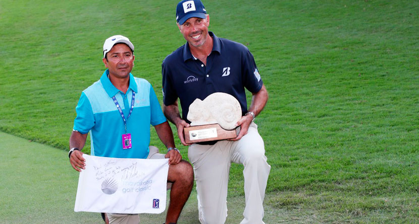 Kuchar's Local Caddie Speaks Out About Payment