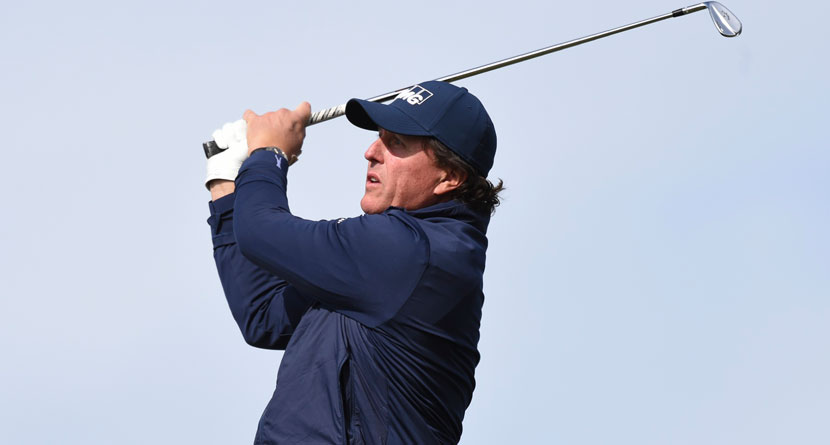 Mickelson Hit Every Fairway For Second Time In Career