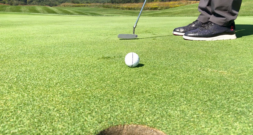 Get Your Putts To Roll Perfectly Straight