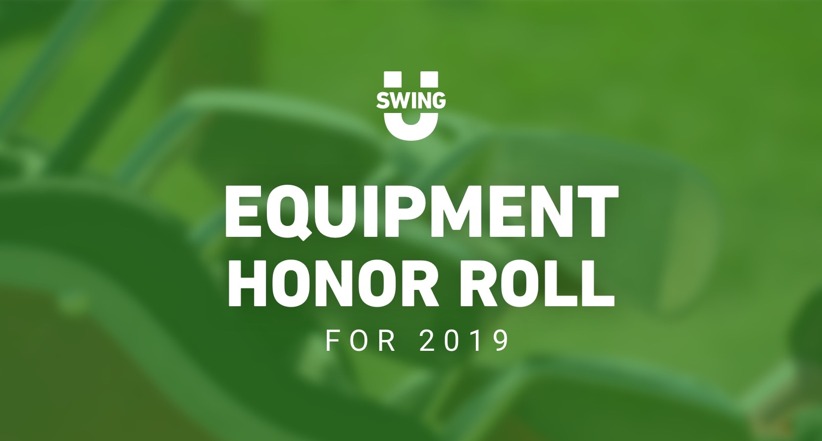 2019 Honor Roll: Golf Balls