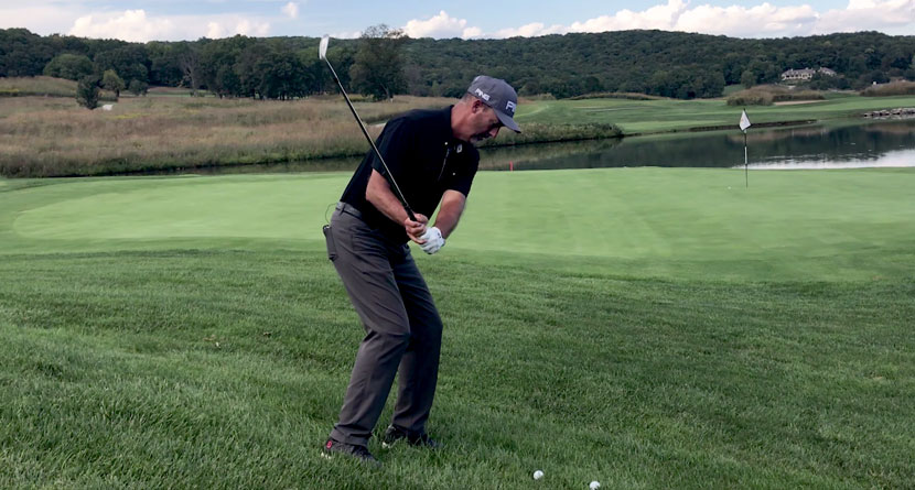 Get Up-And-Down From A Downhill Lie