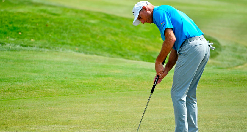 Furyk Laughs Off Putt Getting Rejected By Flagstick