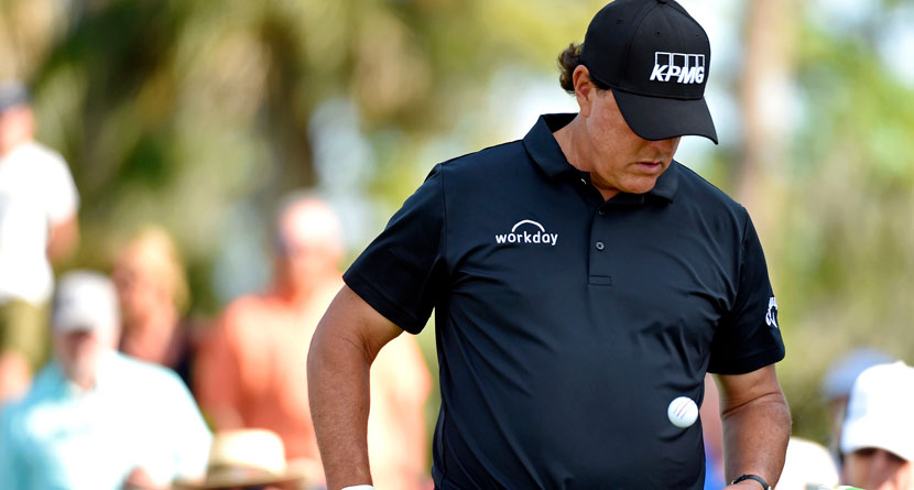 Mickelson Wrapped Up In College Admission Scandal