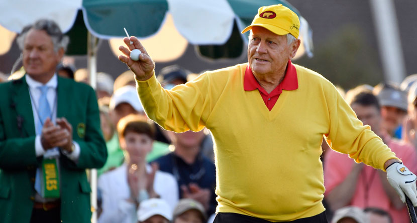 Nicklaus Nervous Woods Could Still Break His Major Record