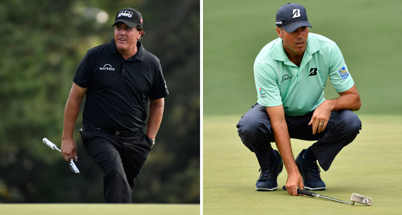 Mickelson Ribs Kuchar In Hilarious Pre-Round Video
