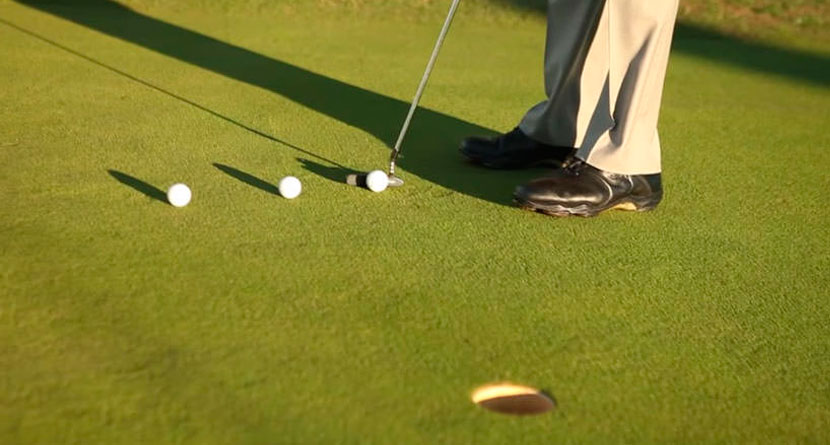 Make More Putts With The Pour, Trickle & Pop Drill