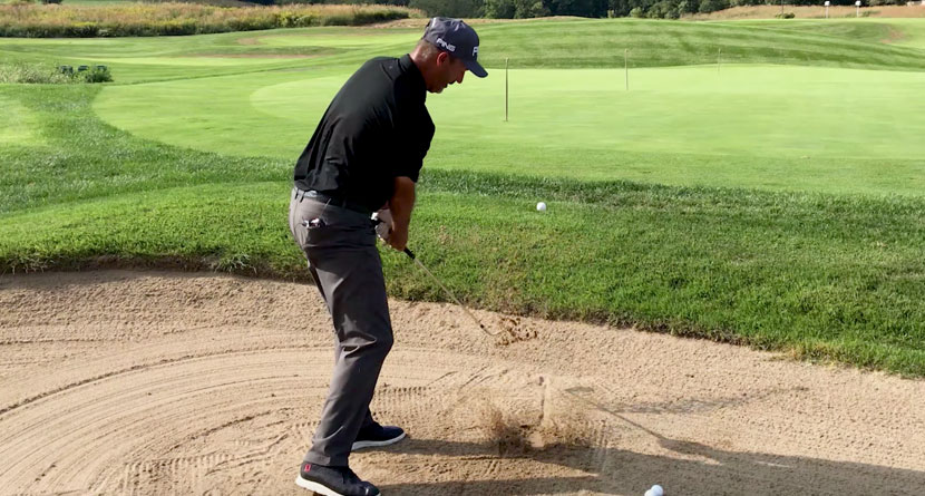 Simplify Your Setup For Better Bunker Shots