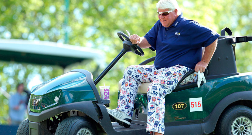 "Fan Calls Daly's Cart ""An Embarrassment To Golf"""