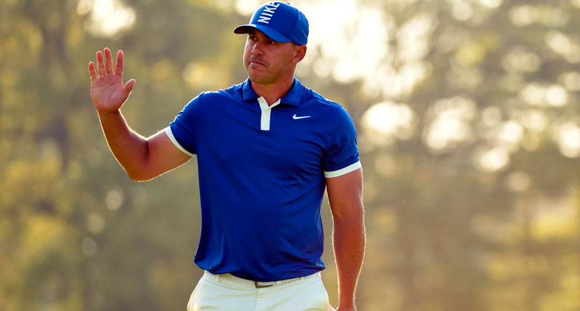 Koepka Sets Historic Pace Through Two Rounds