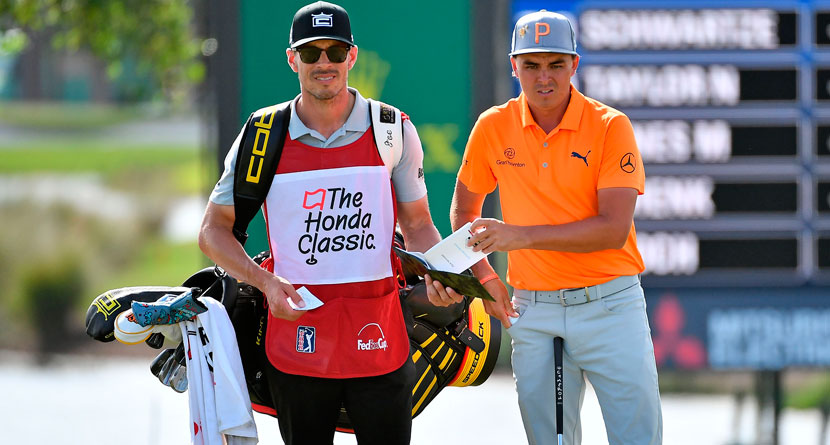 Rickie's Caddie Took Unusual Path To The Tour
