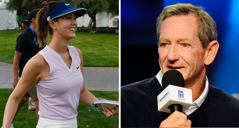 Wie Fires Back At Haney Over LPGA Comments