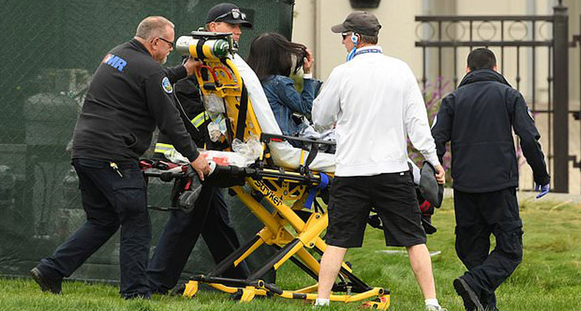 Runaway Cart Sends U.S. Open Fans To Hospital