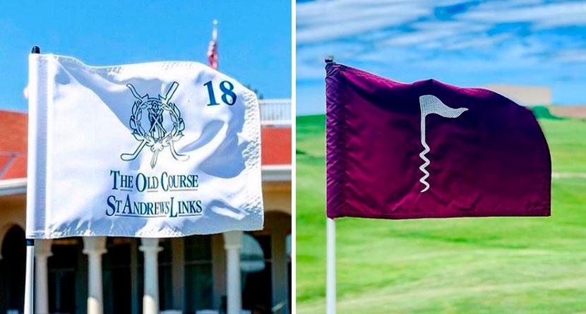 10 Eye-Catching Golf Flags