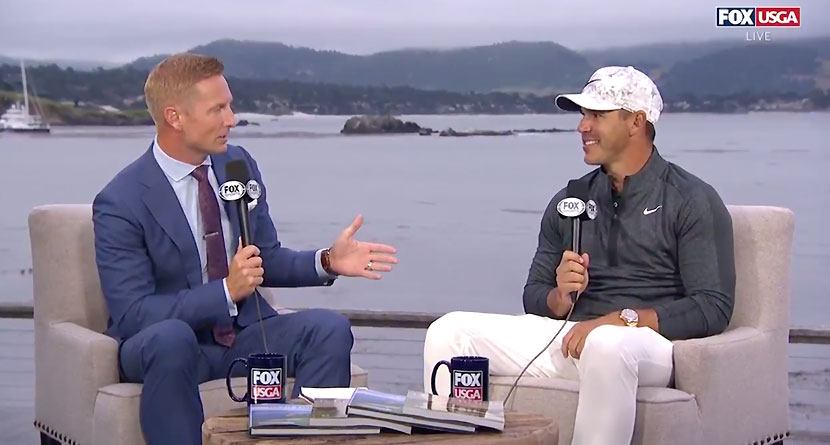 Koepka Admits To Never Having Had A Hot Beverage
