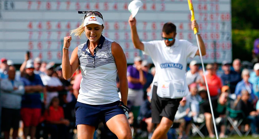 Lexi Holes Clutch Eagle On 18th Hole To Win