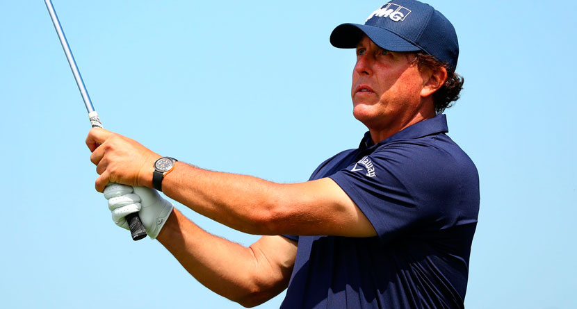 Mickelson Admits He'll Likely Never Win The U.S. Open