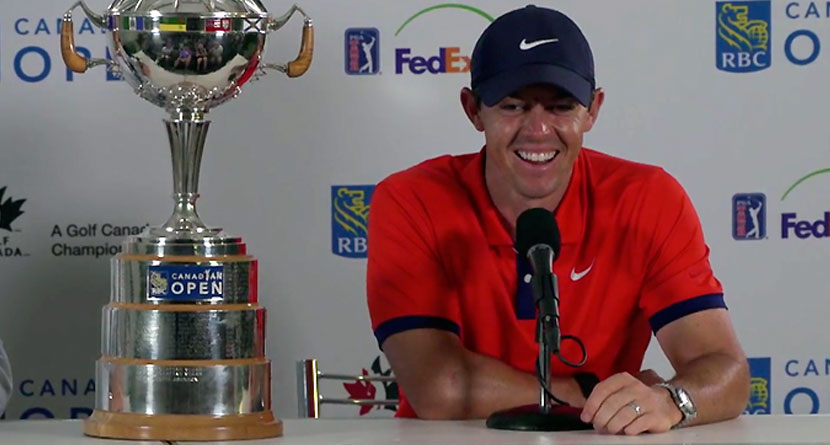McIlroy Plans To Begin U.S. Open Week Hungover