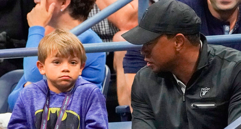 Tiger's Son Hilariously Roasted Him For Poor Putting