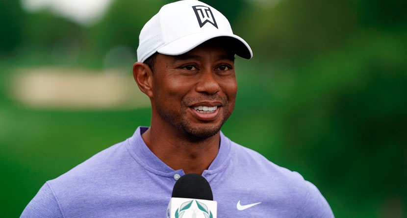 Tiger Says U.S. Open Setups Have Gotten Worse
