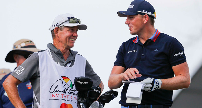 Wallace Accused Of Bullying Caddie At BMW International