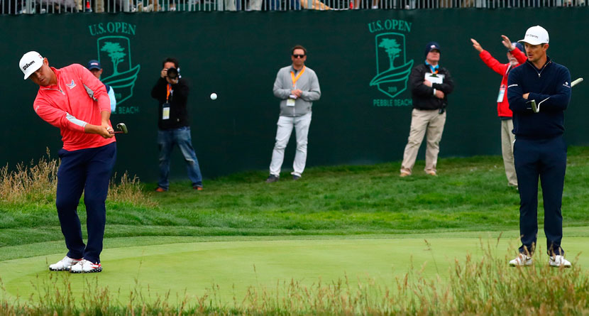 The Shot That Won Woodland The U.S. Open