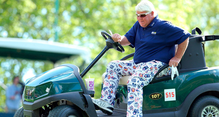 "Daly ""Disappointed"" R&A Won't Allow Cart At Open"