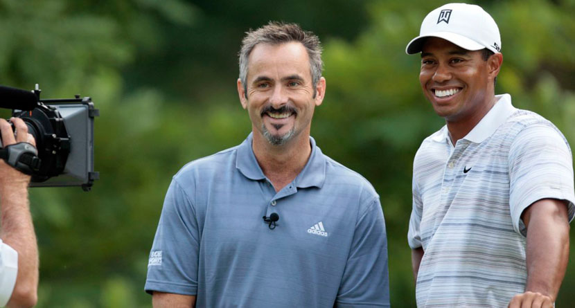 "Feherty Says Woods An ""Unknown"" At The Open"