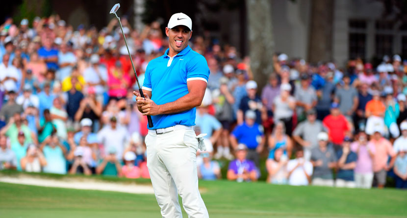 Koepka Shows Up 45 Minutes Before Tee Time, Wins