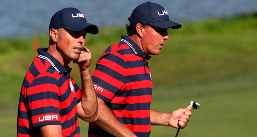 Mickelson Gives Kuchar Crisis Management Advice