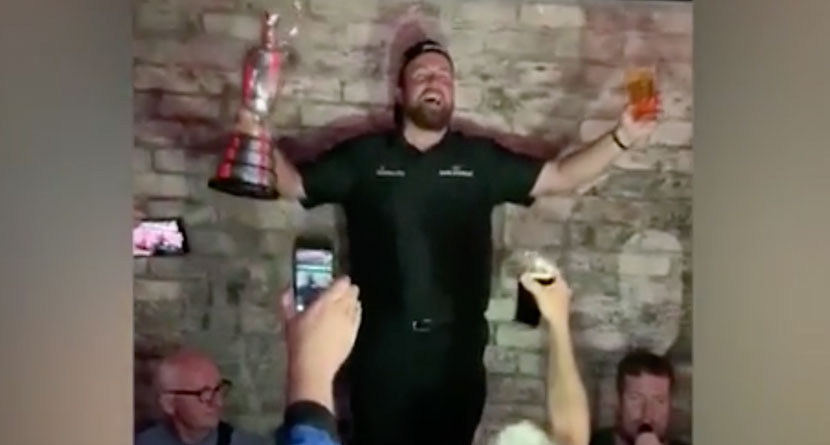 Lowry Celebrated His Open In Epic Style At Dublin Pub