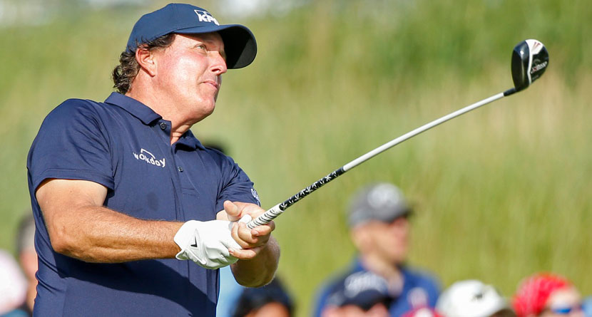 "Mickelson Lost 15 Pounds In ""Hard Reset"" Ahead Of Open"