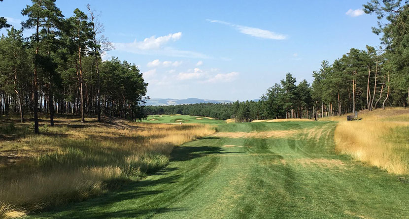 Challenge Tour Playing 783-Yard Par-6 In Slovakia